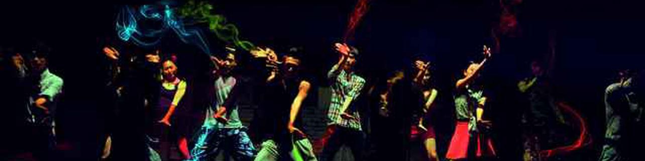 Alarde de danzas con Goi-Alde Dantza Taldea