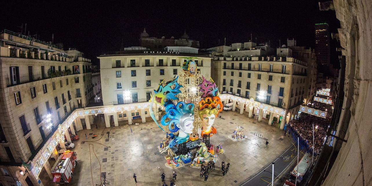 Fiestas de San Juan en Alicante
