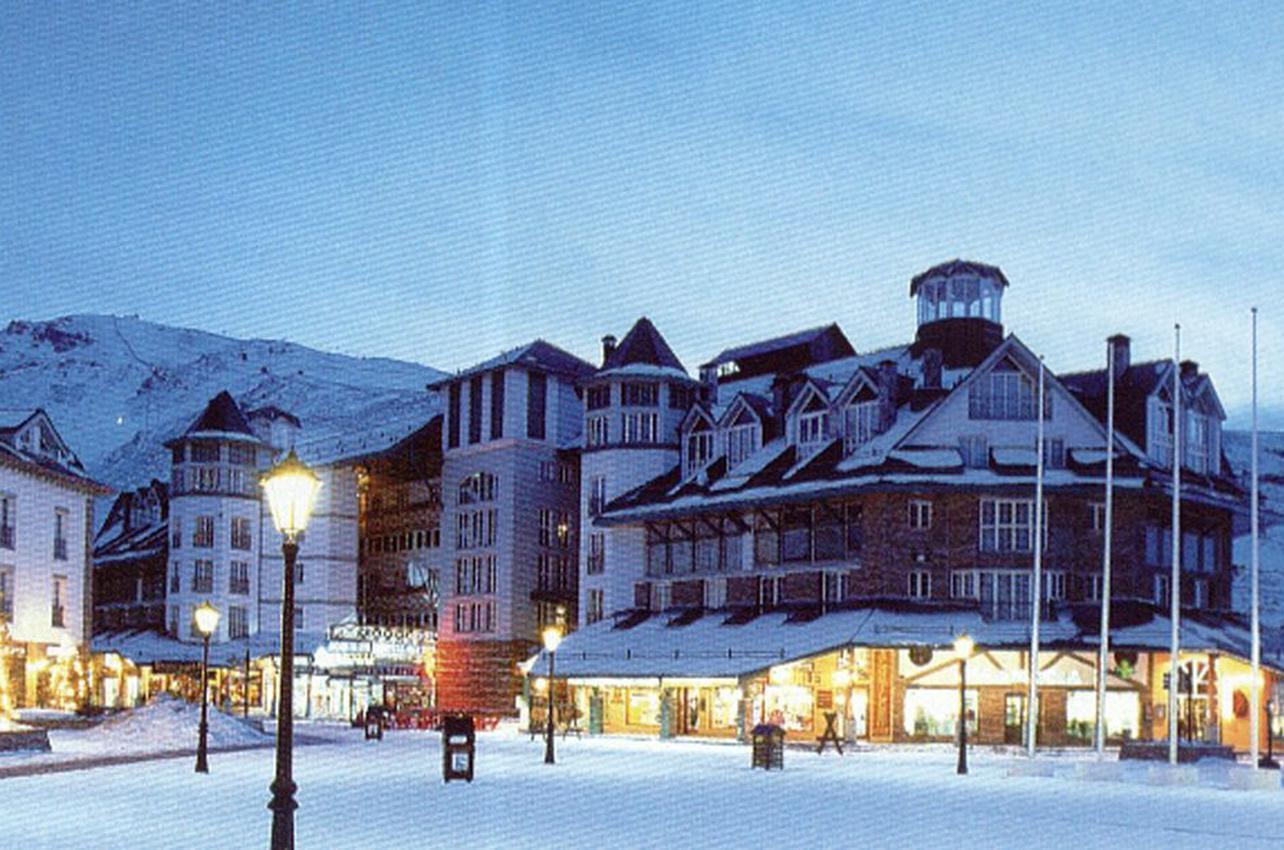 Estación de esquí de Sierra Nevada. Monachil. (Foto: Guia Repsol.)