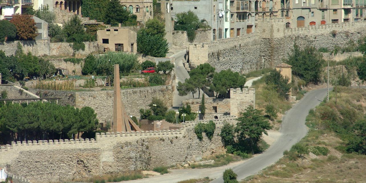 Muralla medieval de Cervera
