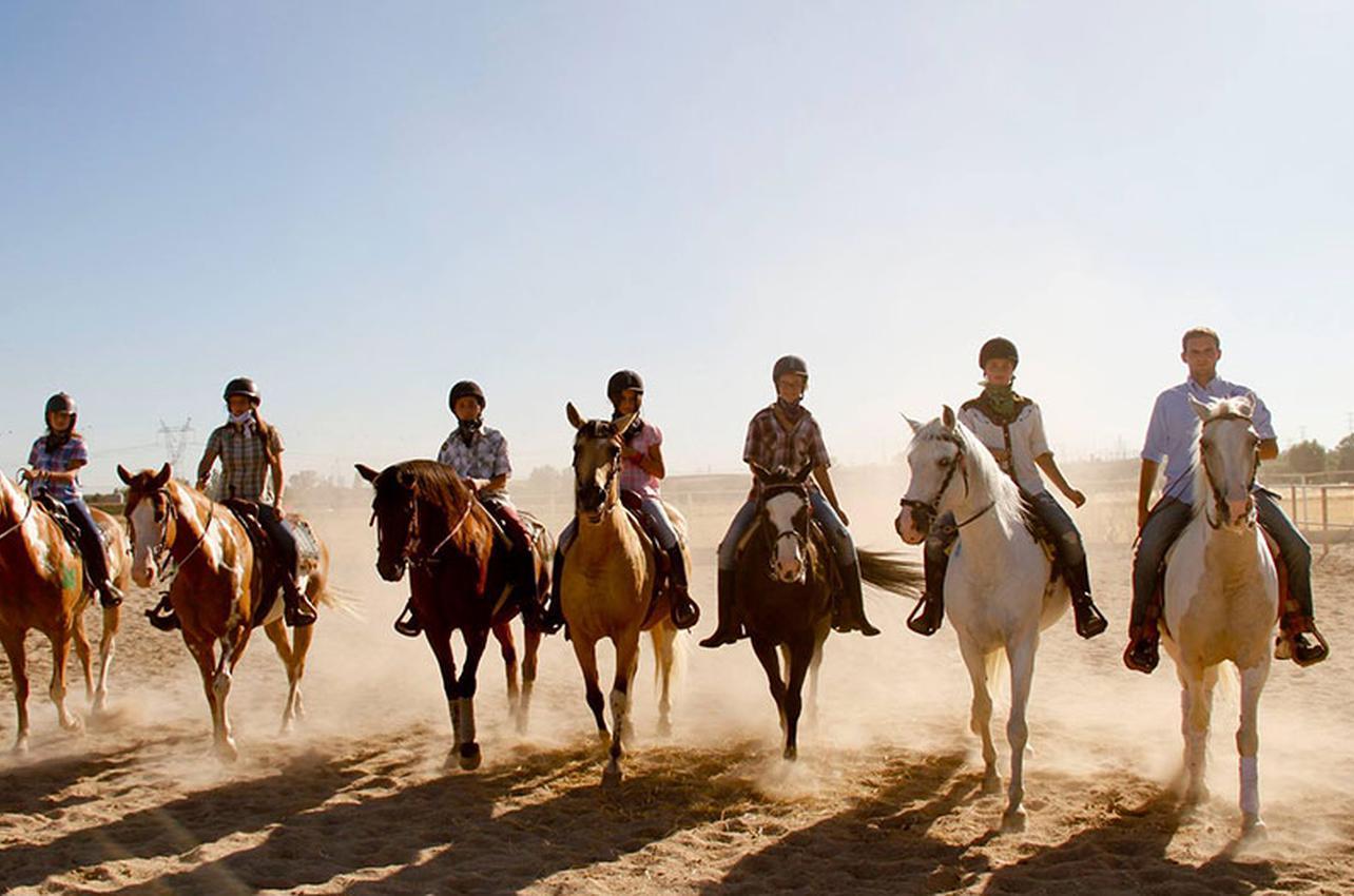 El caballo es el mejor amigo de un cowboy. Foto: El Encuentro