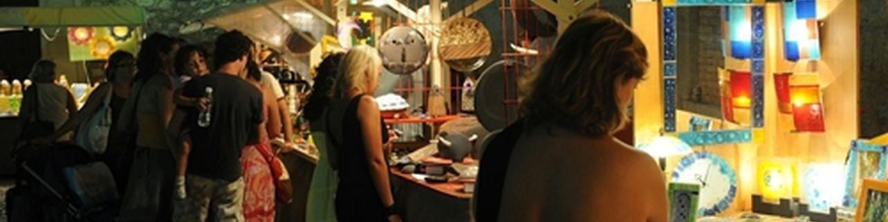 Muestra de artesanía en Altea (Alicante)