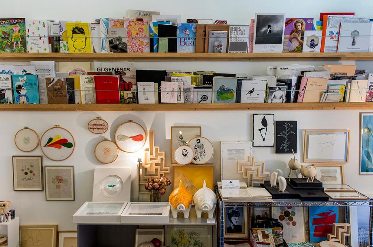 La programación cultural de esta pequeña galería no pasa inadvertida. Foto: Roberto Ranero