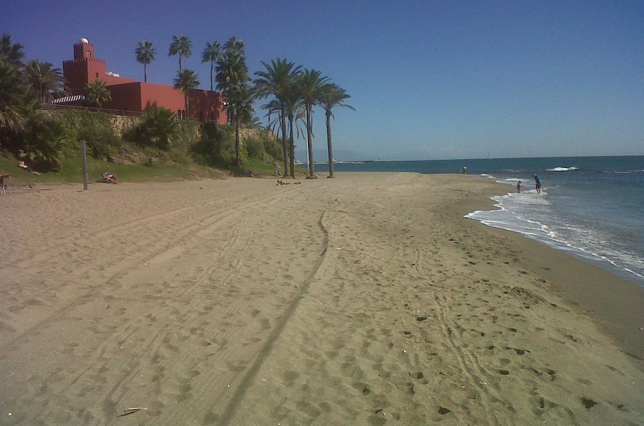 Playa Bil Bil. Benalmádena. (Foto: Ayuntamiento de Benalmádena.)