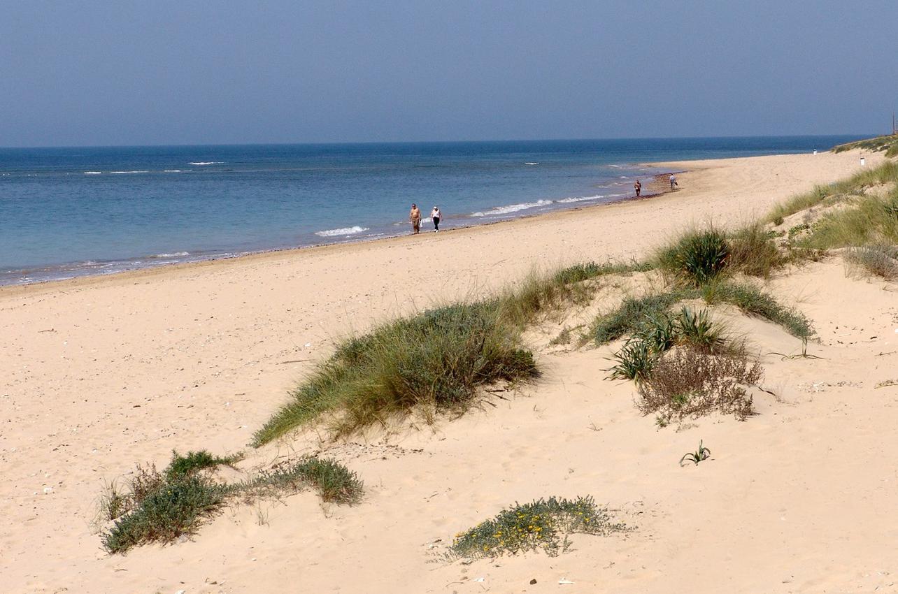 Playa de Punta Candor. Rota. (Foto: Ayuntamiento de Rota.)