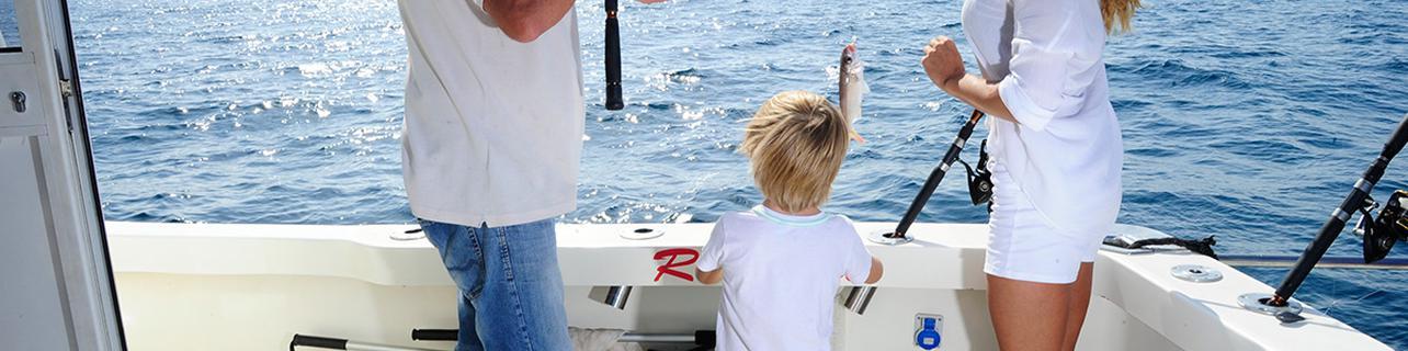 Pescar con niños en Puerto Banús