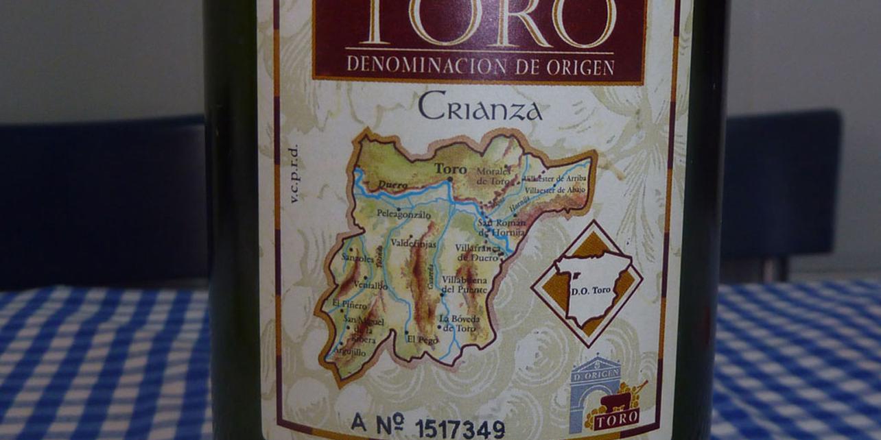Vino de Toro  denominación de origen