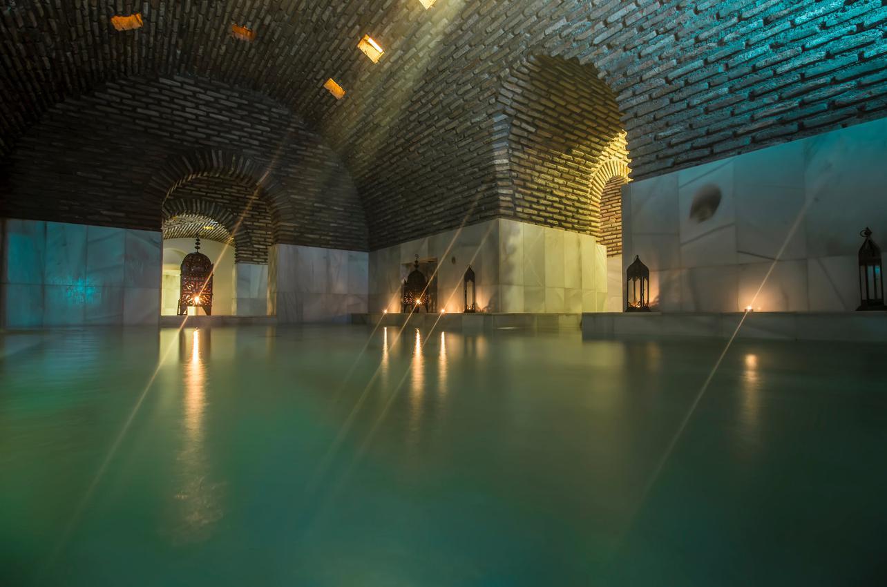 Ubicado en unos baños de la época islámica. Foto: Medina Mudéjar.