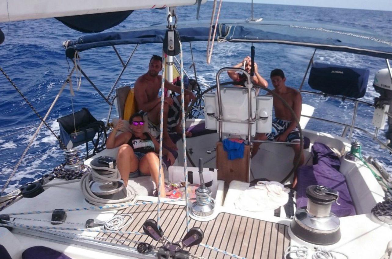 Navegación por el Mar Menor en Murcia