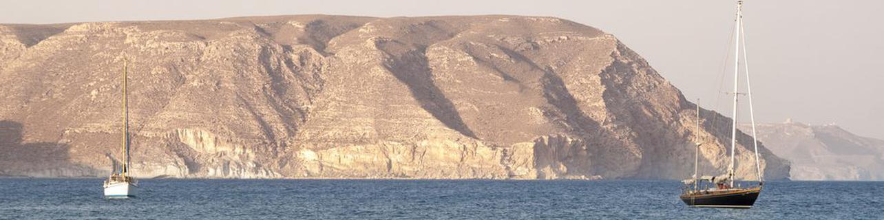 Navegar por el Cabo de Gata