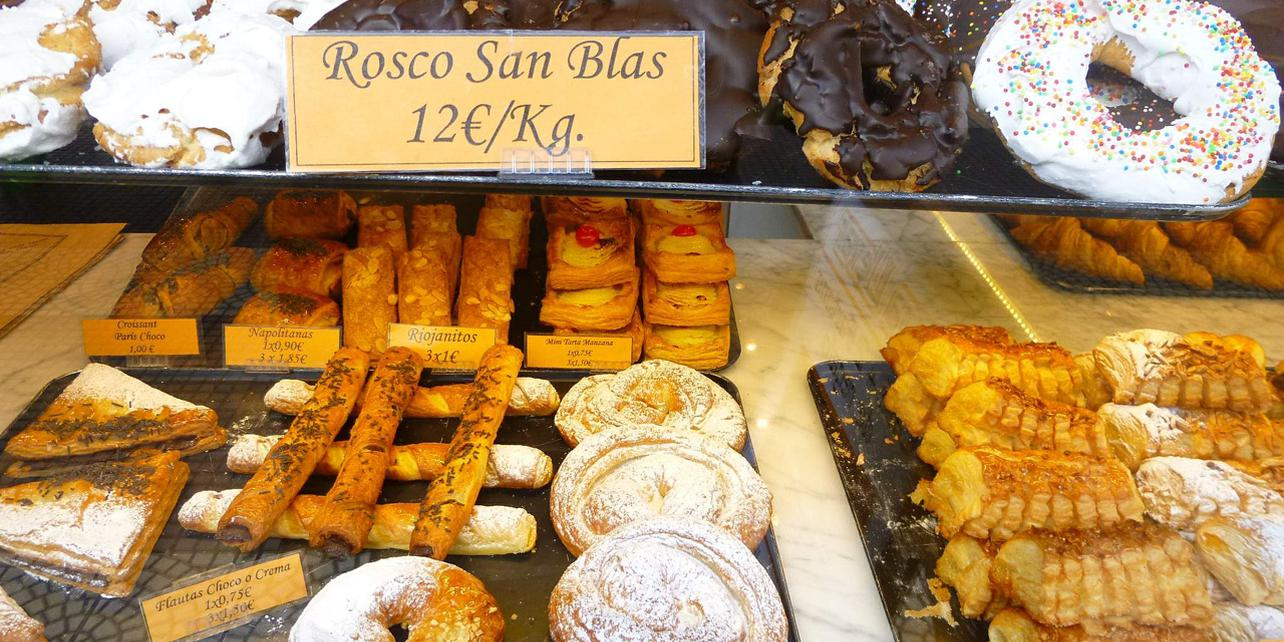 Bollos y Roscas de San Blas