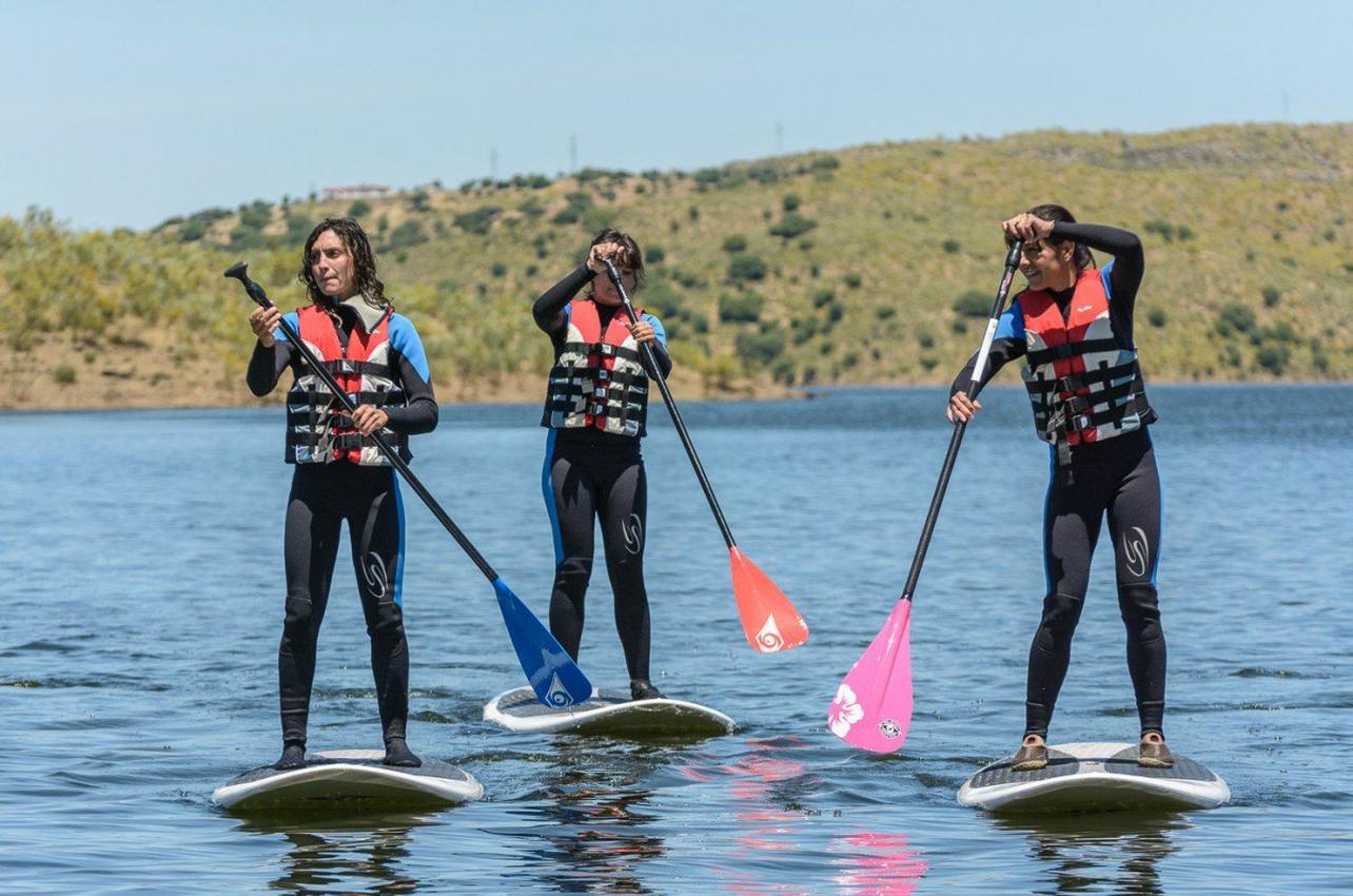 Paddle Surf en Alcántara