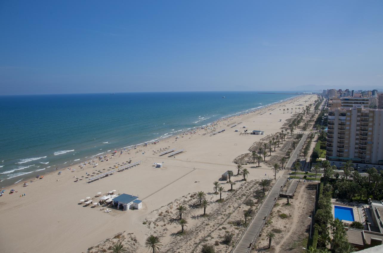 Vista aérea de Playa Gandía. (Foto: Alex Oltra.)