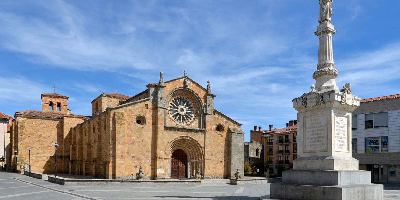 Resultado de imagen de iglesia de san pedro avila