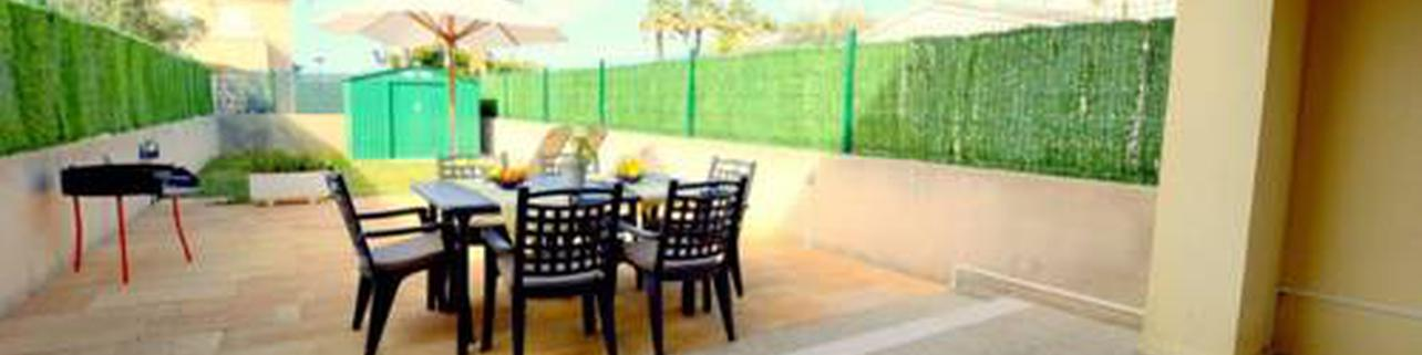 New Villa with garden in Puerto de Alcudia