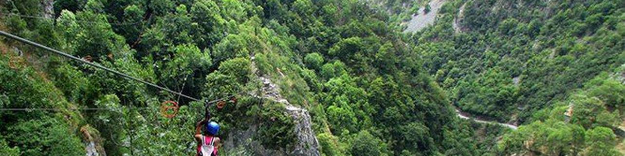 4 tirolinas en Asturias