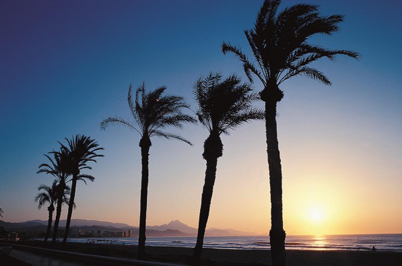 Playa de San Juan de Alicante. (Foto: Patronato Municipal de Turismo de Alicante.)