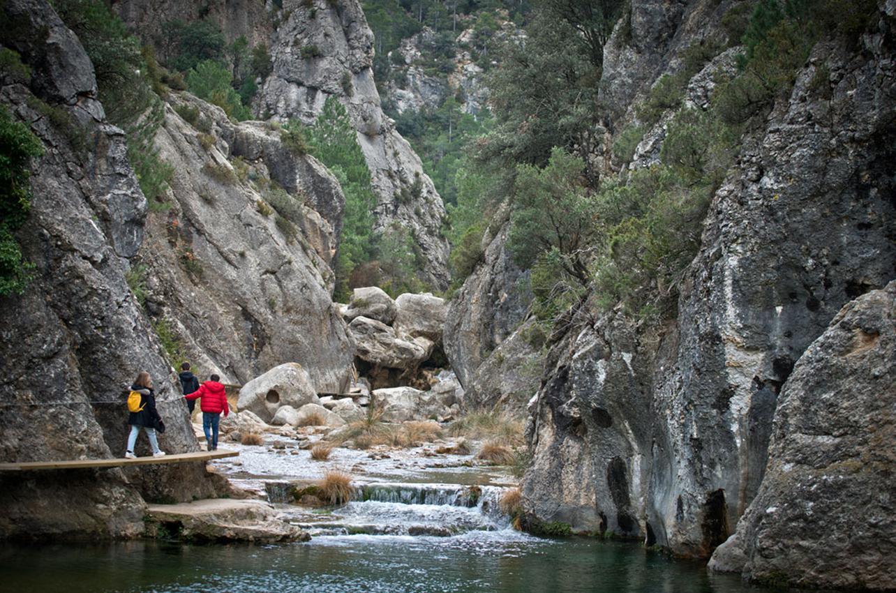 69bc38dd7 Gracias a las pasarelas, la ruta del Parrisal resulta cómoda y sencilla.  Foto: