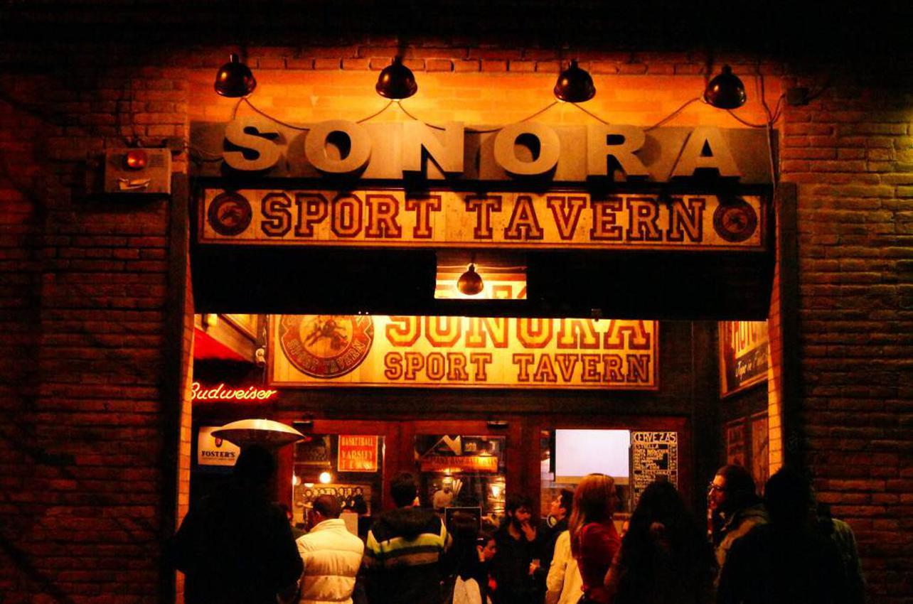 Aquí se vive el deporte. Foto: Sonora Sport Tavern