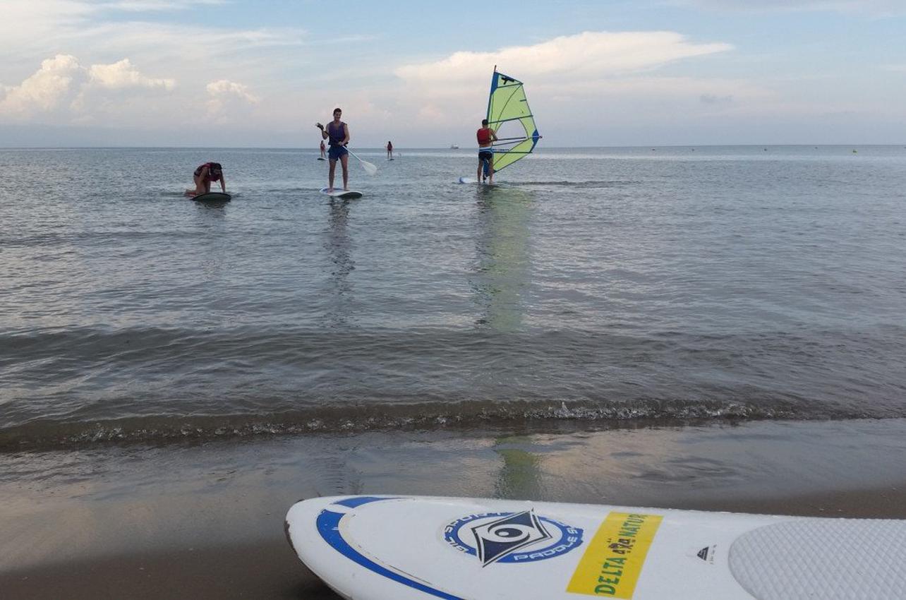 Paddle Surf por el Parque Natural del Delta del Ebro
