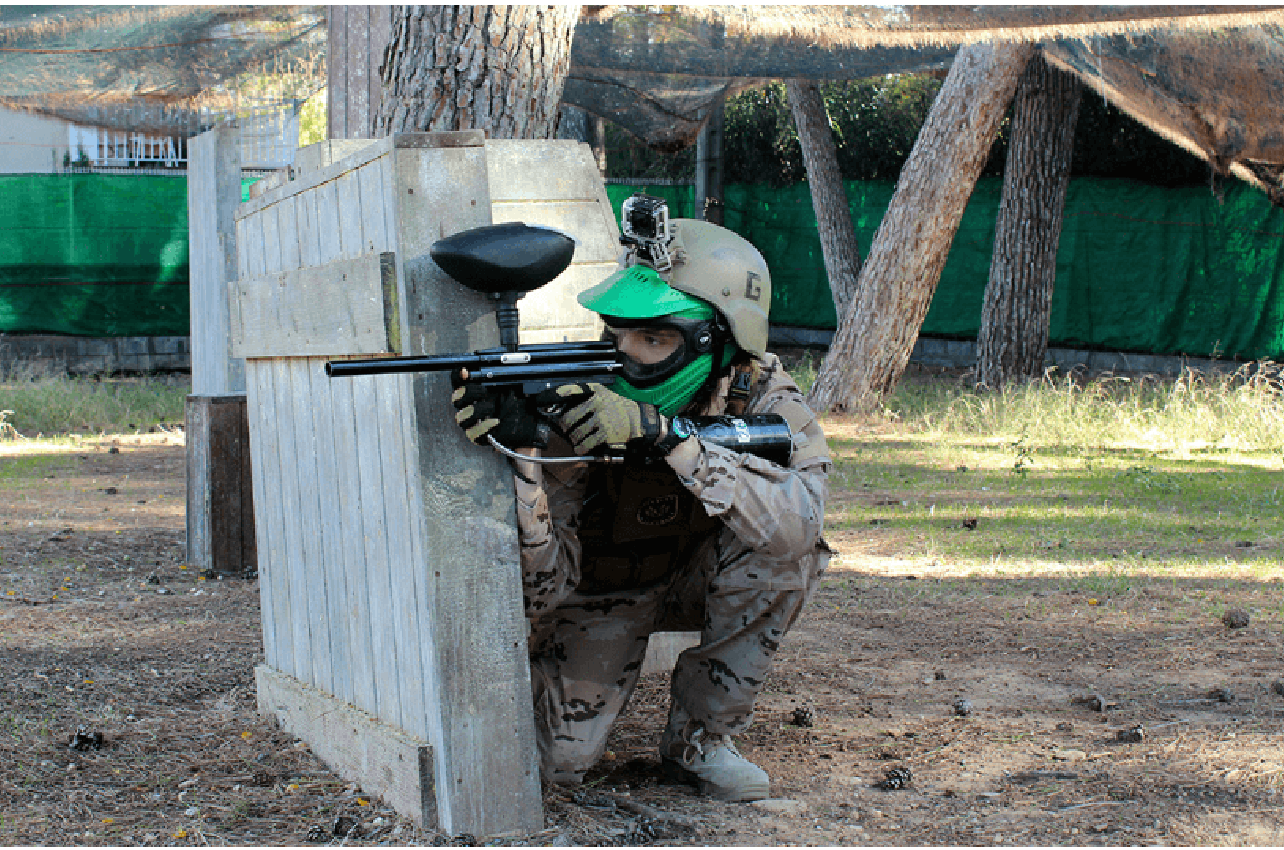Paintball para adultos en Salou