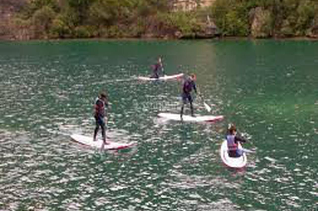 Paddle Surf por el Aiguabarreig en Fraga