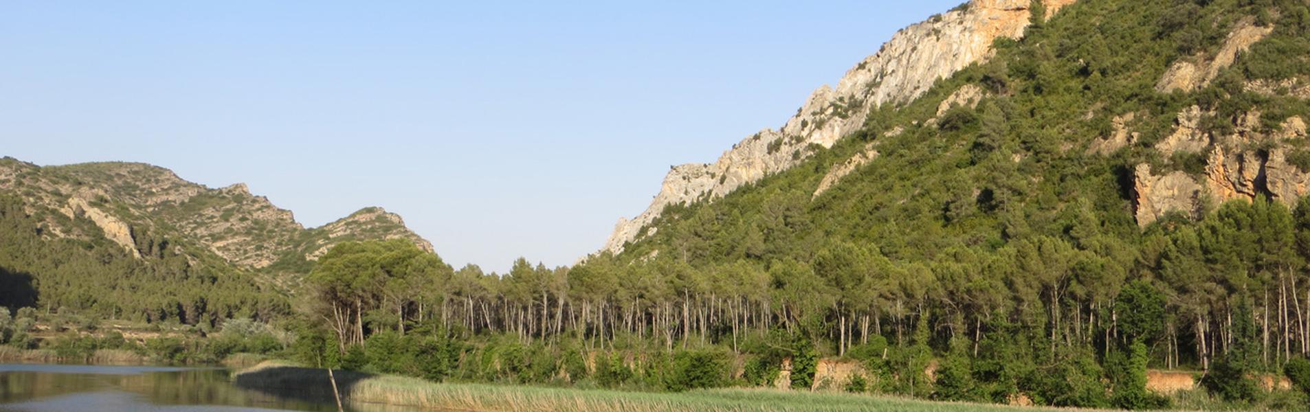 Pantano de Sant Llorenç de Montgai